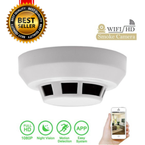 Hidden IP Camera Smoke Detector